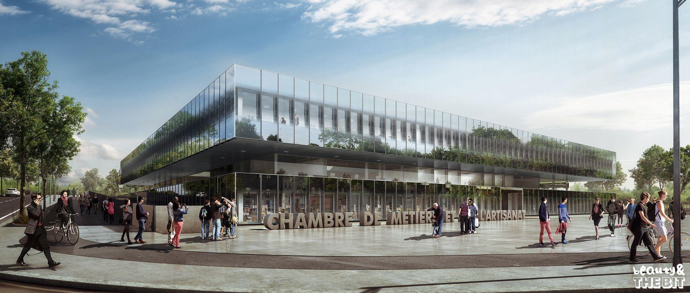 Chambre De Métiers Et De Lu0027Artisanat (CMA), France, KAAN Architecten