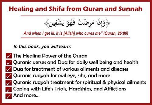 Healing and Shifa from Quran and Sunnah (Ruqyah Dua from Quran and