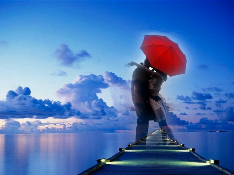 My First Kiss Under The Red Umbrella   Love quotes for him ...