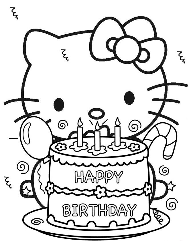 Pin Von Salsabeela Maelamai Auf Hello Kitty Hallo Kitty Geburtstags Geburtstag Malvorlagen Hello Kitty