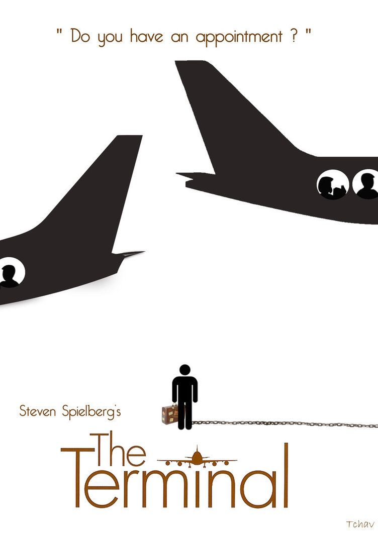 The Terminal 2004 Minimal Movie Poster By Adrien Chavant Amusementphile Minimalist Poster Movie Posters Minimalist Minimal Movie Posters