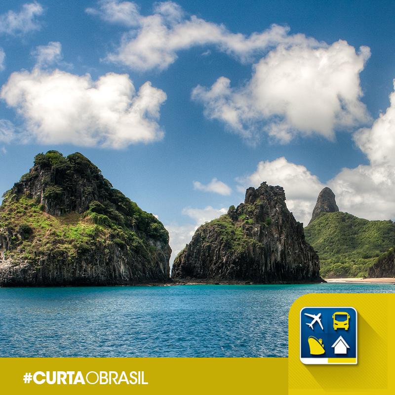 O arquipélago mais famoso do Brasil é mesmo muito lindo. #CurtaOBrasil