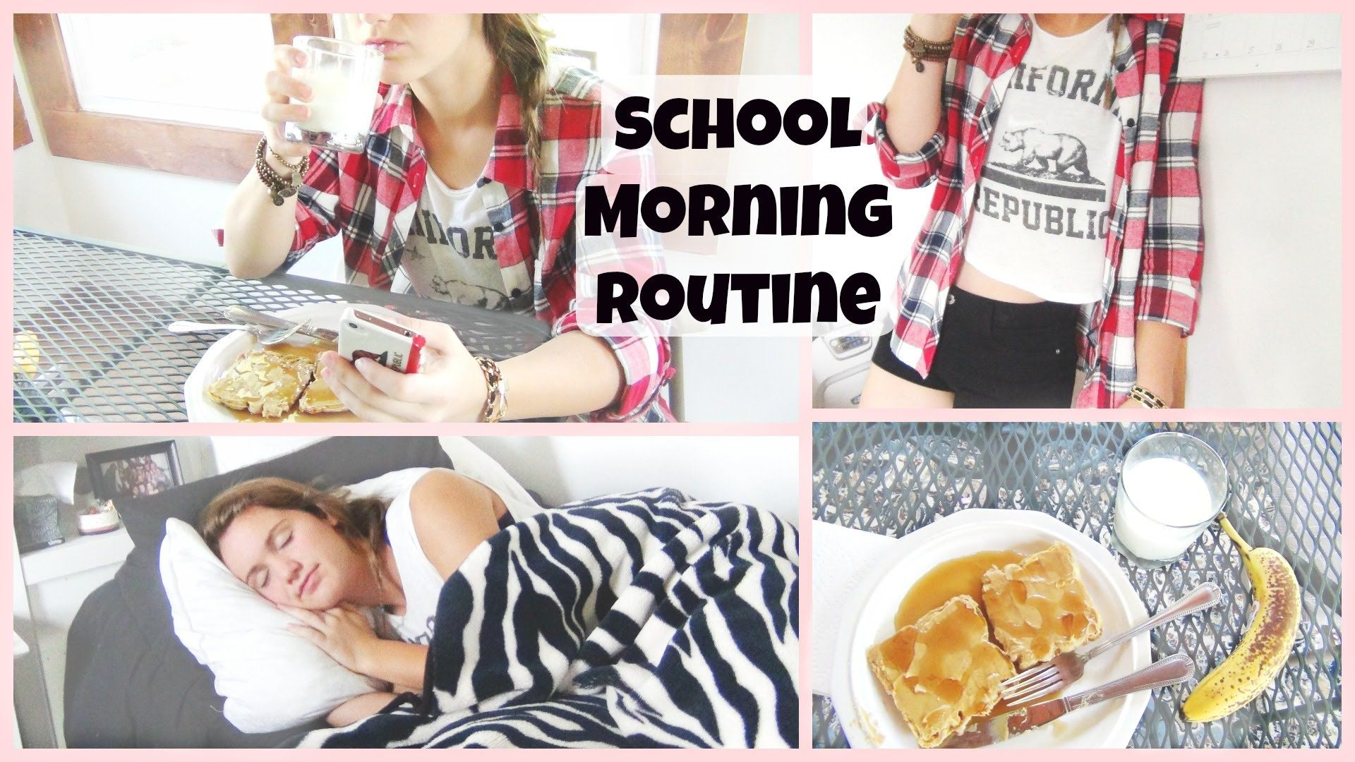 Morning Routine for School 2014 ♡