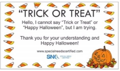 autism speaks shares advice for a fun safe happy halloween for all inclusion