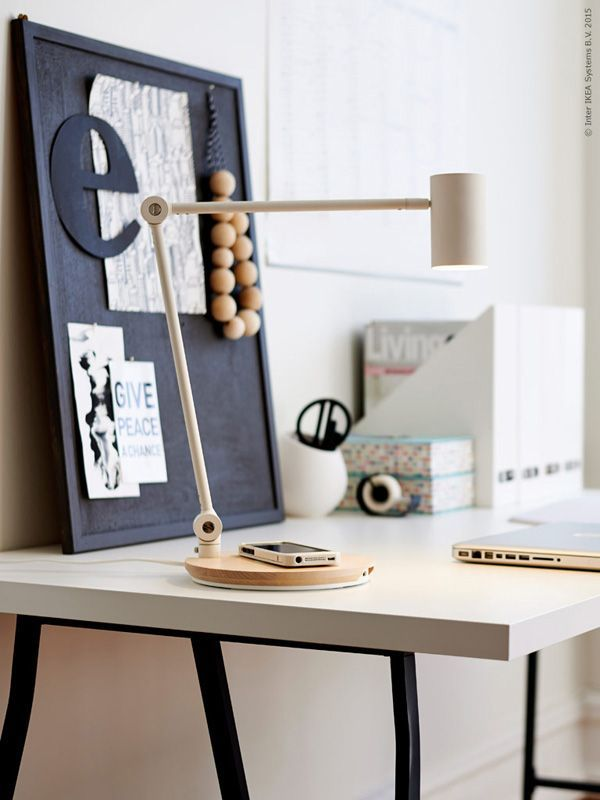 Ikea S Wireless Charging Furniture