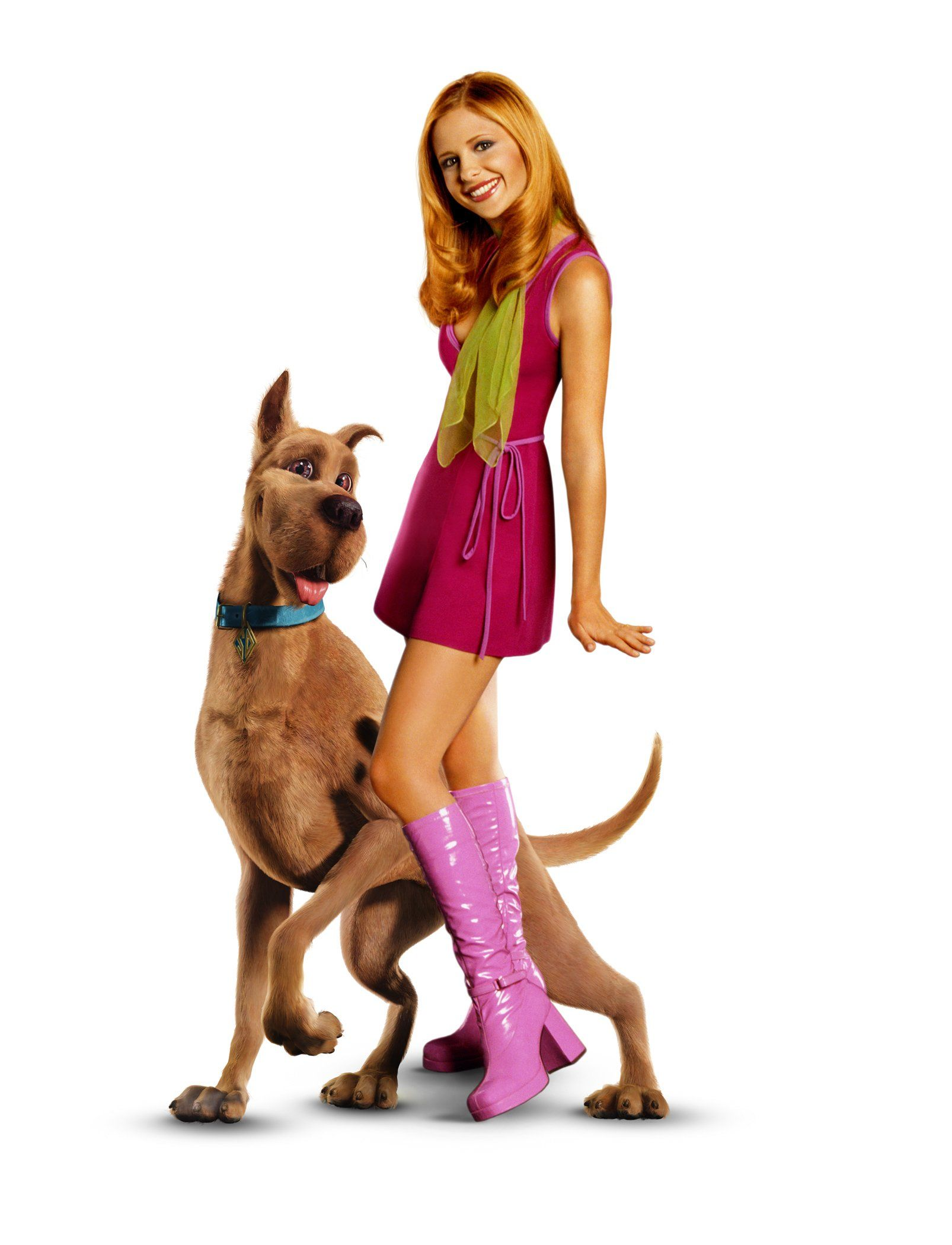 Daphne blake from scooby doo played by sarah michelle - Personnage scooby doo ...