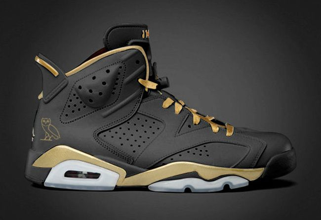 Love these black n gold exclusives  OVO Air Jordan 6 PE via Sole Collector