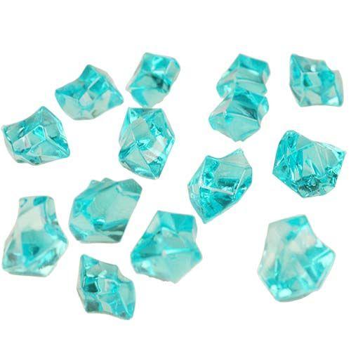Wholesale Glass Vasesacrylic Ice Light Blue 12 Bags 360bag