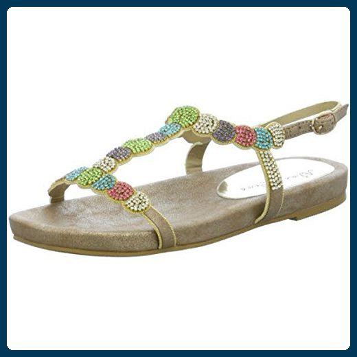 Keil Sandale Multi in Den Farben mit der Geöffneten Zehe für Mädchen Größe 6 UK/39.5 EU - Mehrfarbig Lilley Jk61YC