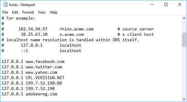 Block Websites On Chrome From Host File | Windows 10 Tips