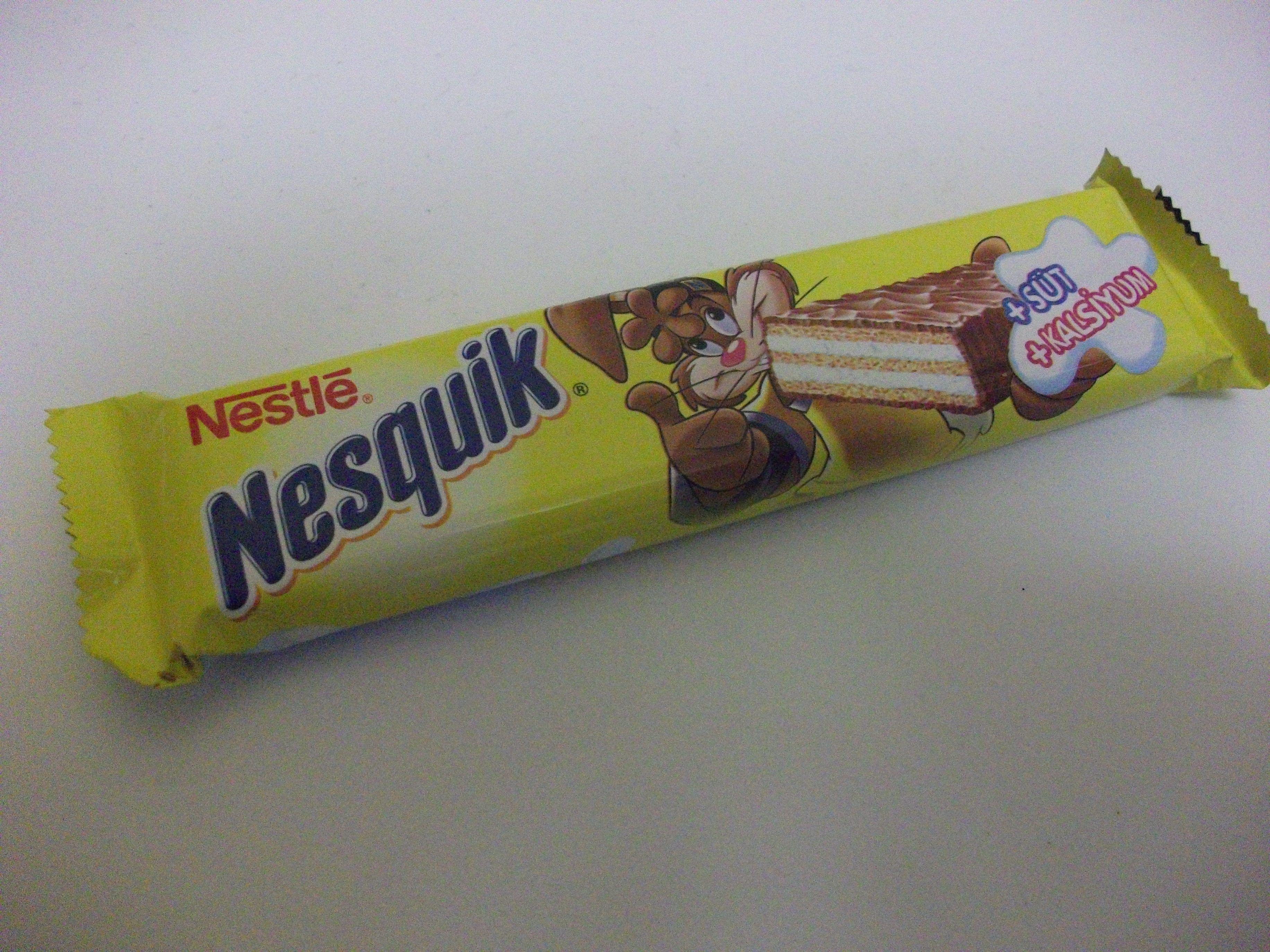 Nestle Nesquik Chocolate Wafer Bar #nesquik #chocolate