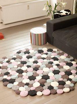 Teppich Selber Häkeln Häkelanleitung Via Makeristde Häckeln