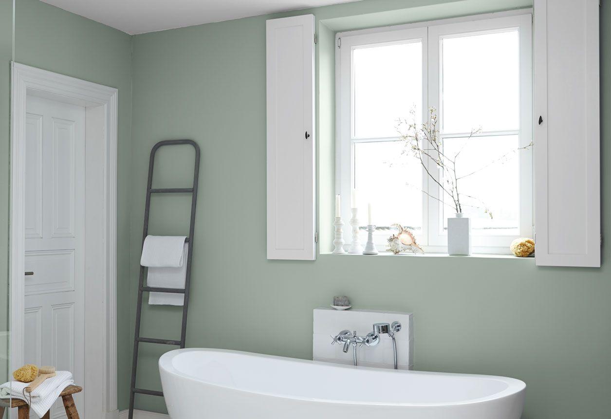 beautiful badezimmer farbe grun #1: Alpina Feine Farben: Farbfamilie Grün