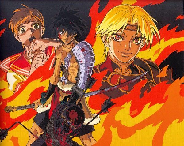Tags: Anime, Scan, The Vision of Escaflowne, Van Fanel, Dilandau Albatau