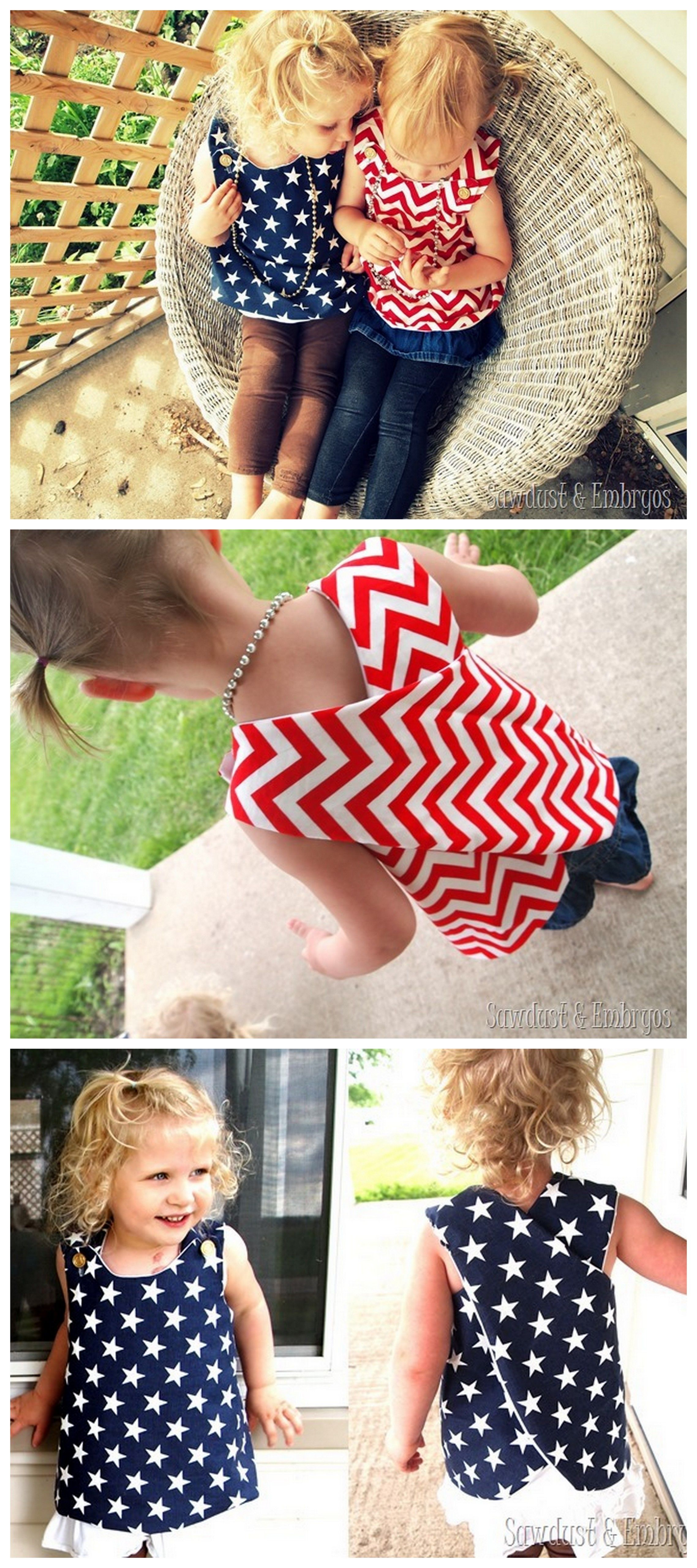 How To Sew A Simple Dress For Girls Simple Dress For
