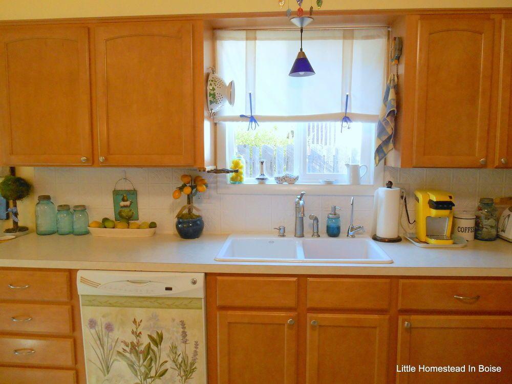 Kitchen Backsplash Re do On A Budget   Kitchen redo ...
