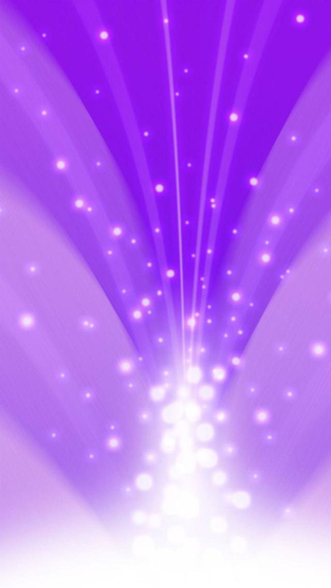 Abstract Flare Purple Light Beam iPhone 6 plus