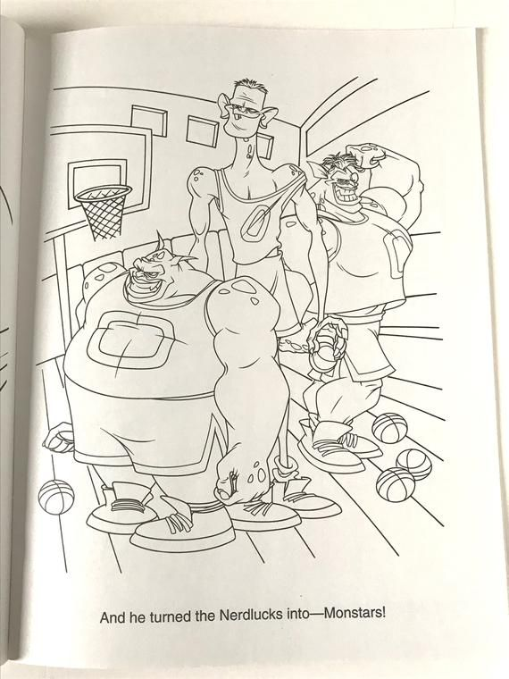 Unused Space Jam Coloring Book New Old Stock in 2020 ...