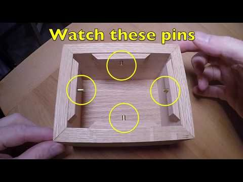 Making A Spinning Puzzle Box Using Solid Brass Rivets Youtube Wood Puzzle Box Puzzle Box Wooden Puzzle Box