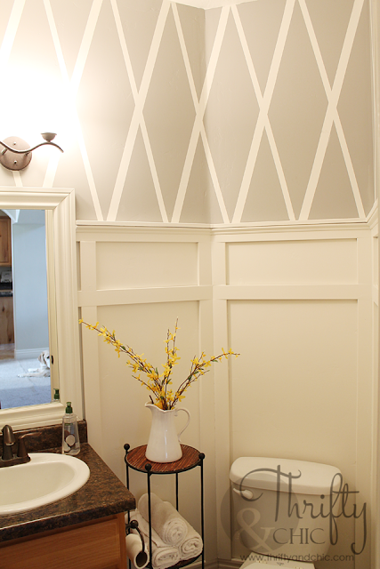 Summer Home Tour   Walls, Powder room and Rental decorating