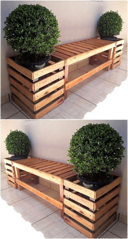 Photo of Die umgeformten Holzpaletten DIY Strukturen sind sehr nützlich und effektiv zu erneuern … – Garden