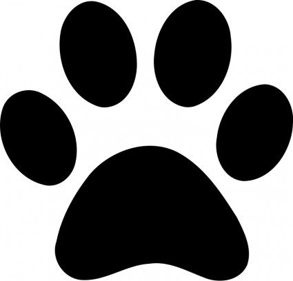 Paw Print Vector Clip Art Free Vector For Free Download Paw Print Clip Art Dog Paw Print Paw Drawing
