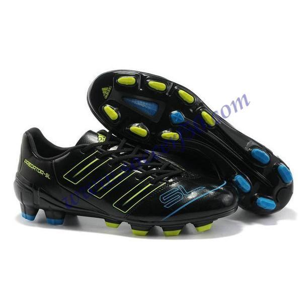 5689d30e6e68 Cheap Adidas Adipower Predator SL TRX FG Boot Black Blue Electricity For  Wholesale