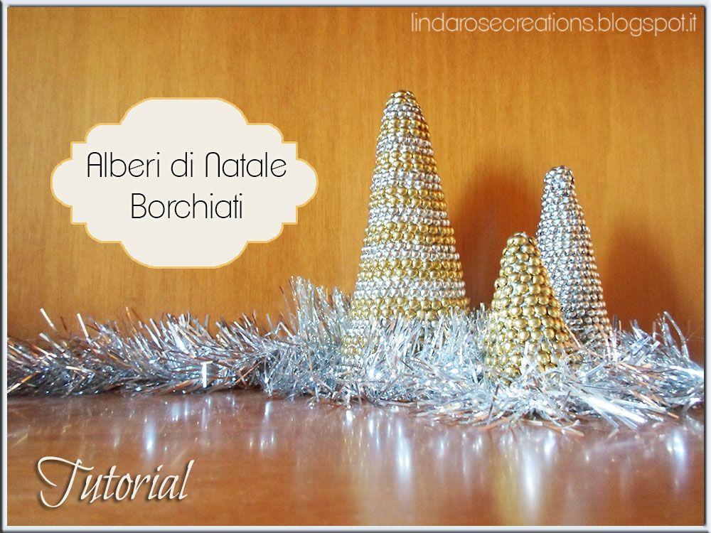 LindaRose Creations: Alberi di Natale Borchiati
