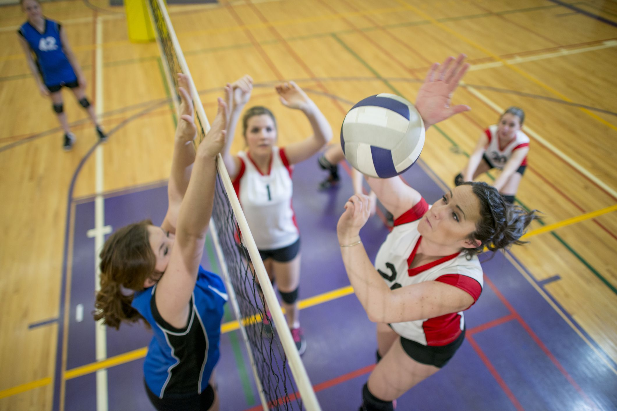 Learn Techniques To Improve Your Volleyball Hitting Volleyball Tryouts Making The Team Volleyball Players