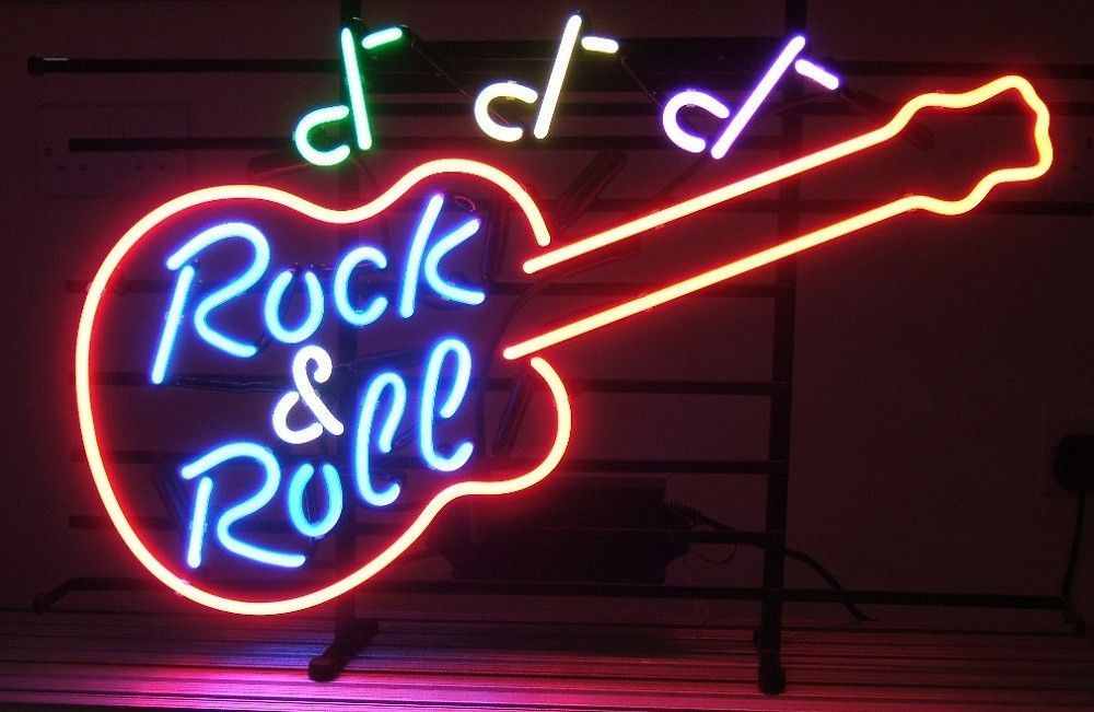 Hard Rock Live Music Neon Sign Neon signs, Neon light