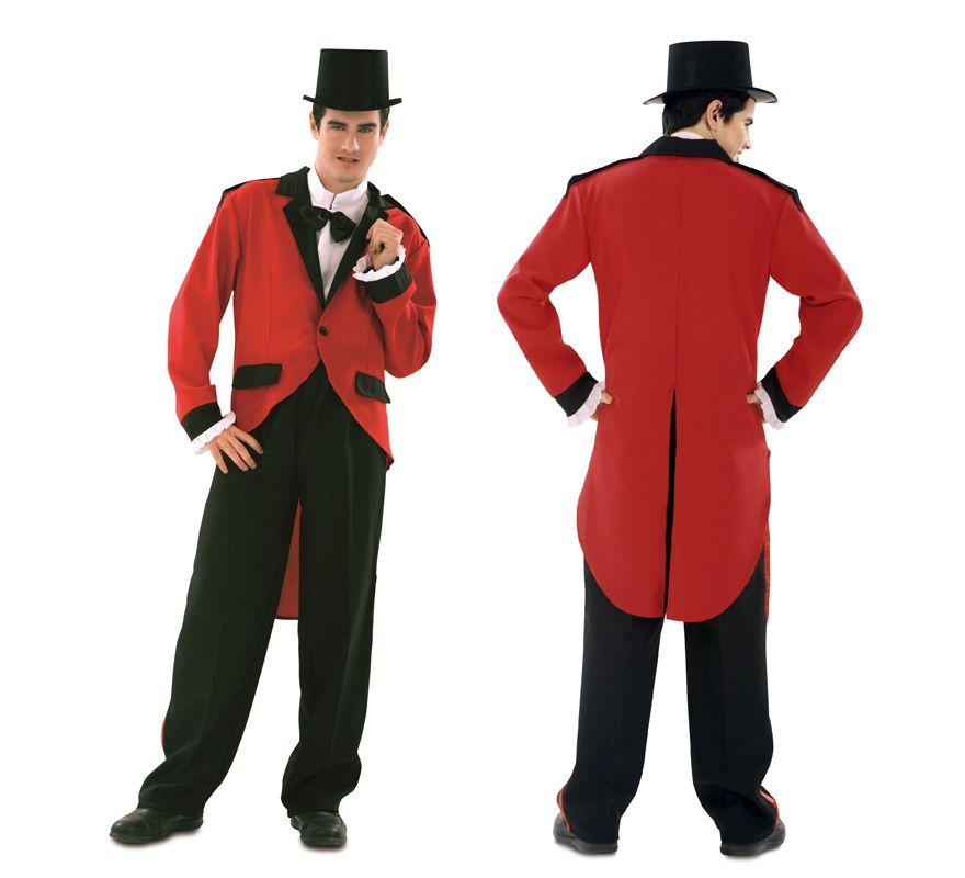 disfraz de presentador de circo para hombre talla m l