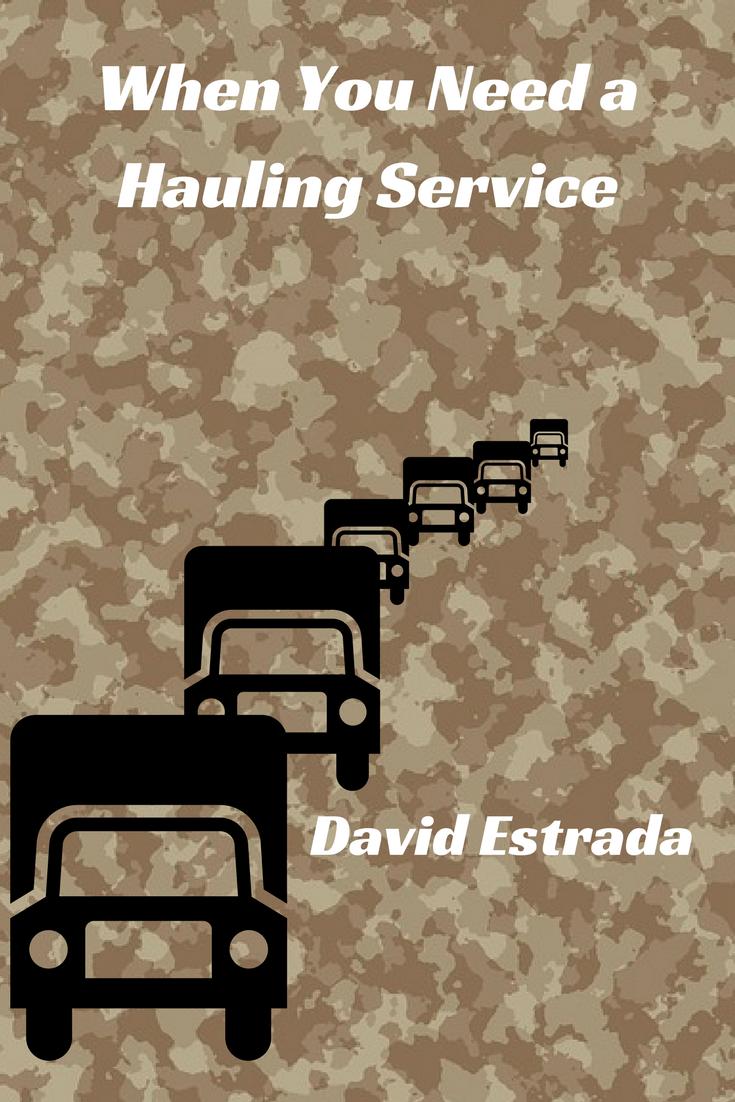 Call David Estrada With David S Hauling Moving At 913 432 5928