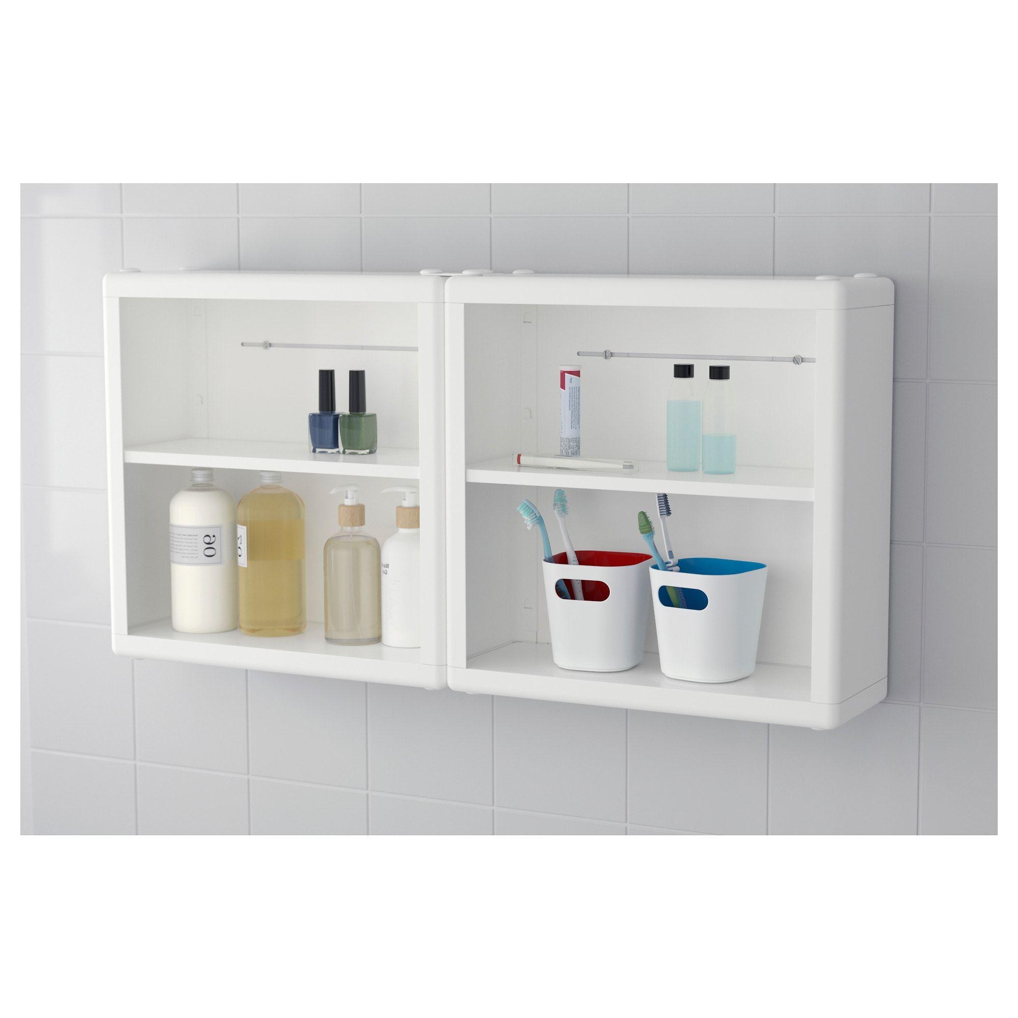 DYNAN Wall shelf, white, 7x7x7 cm - IKEA in 7  Wall shelves