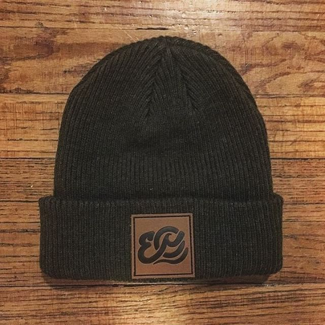 700dfc281d5 Custom Black Merino Wool Cuffed Beanies for  endlessoceansny ! Branding  Option Includes  Front Debossed Leather Patch with Black Ink.  streetwear  ...