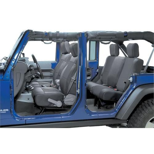 Marvelous Coverking Front Seat Covers With Rear Cover For 08 10 Jeep Pdpeps Interior Chair Design Pdpepsorg