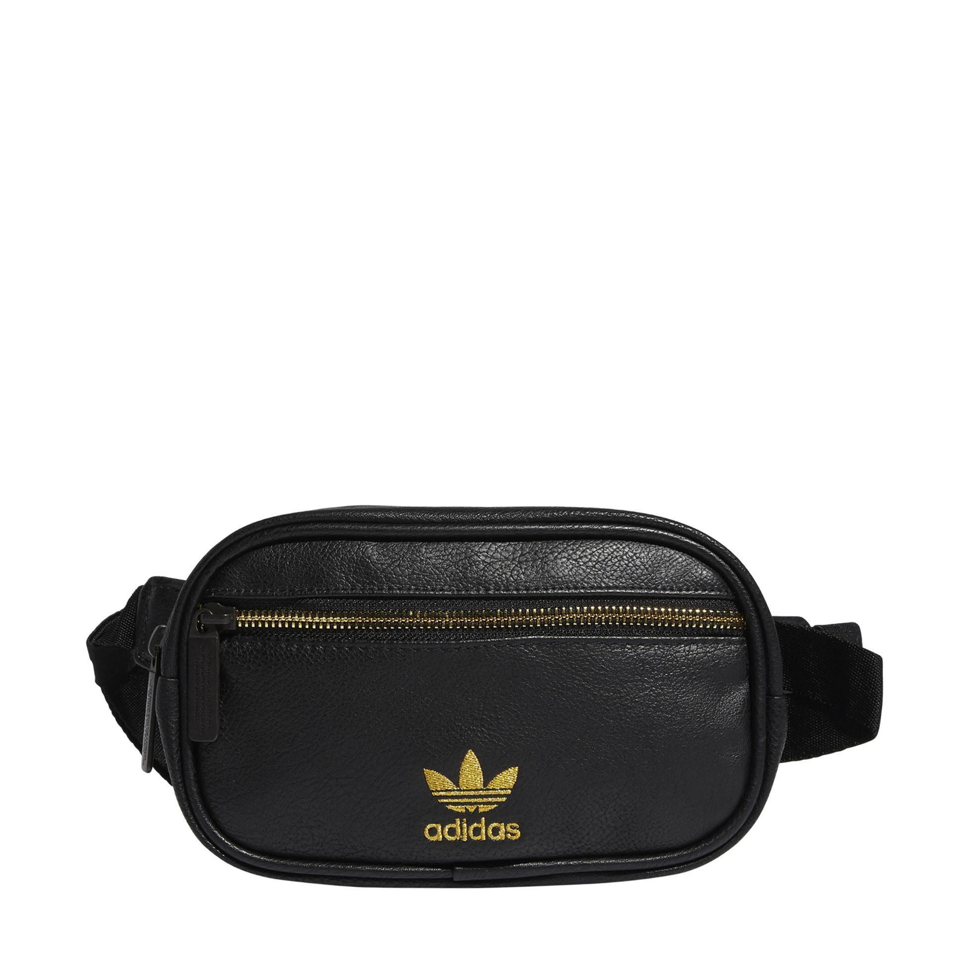 Waist Pack Waist pack, Leather, Black adidas