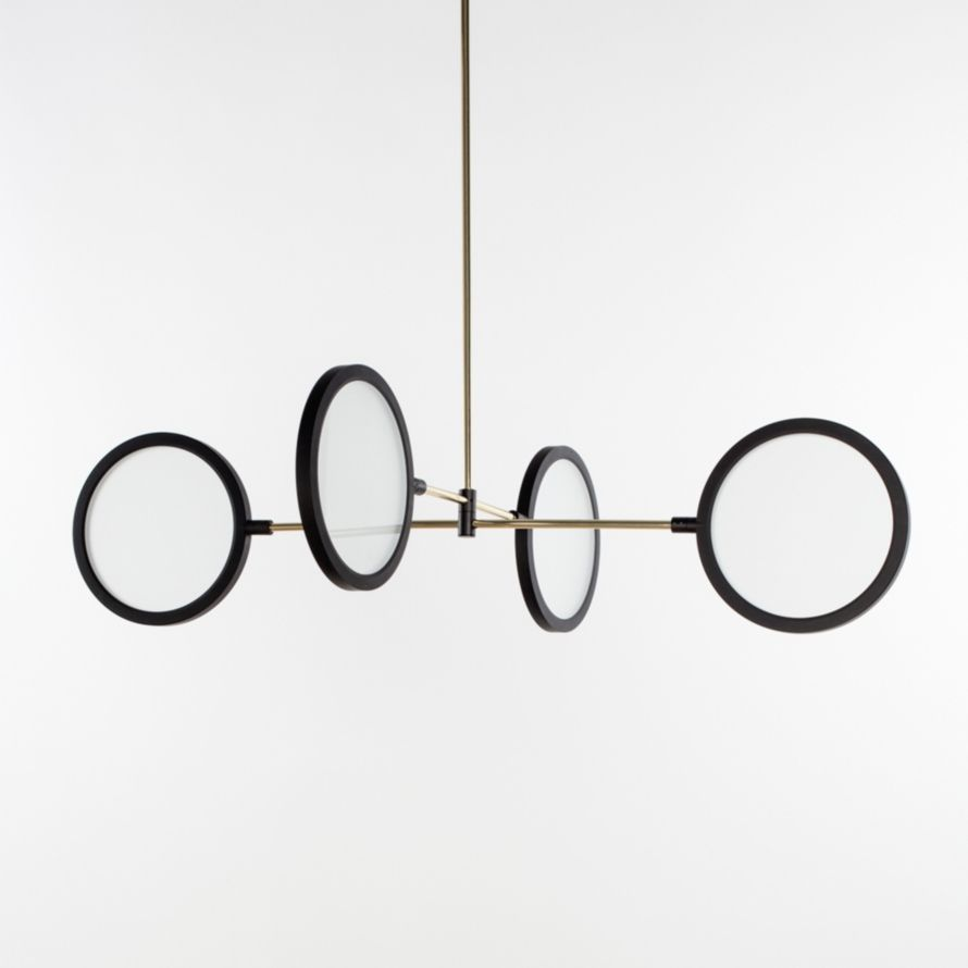 Discus Pendant - Four Disc - Pendant - LIGHTING from Matter on Broome St.