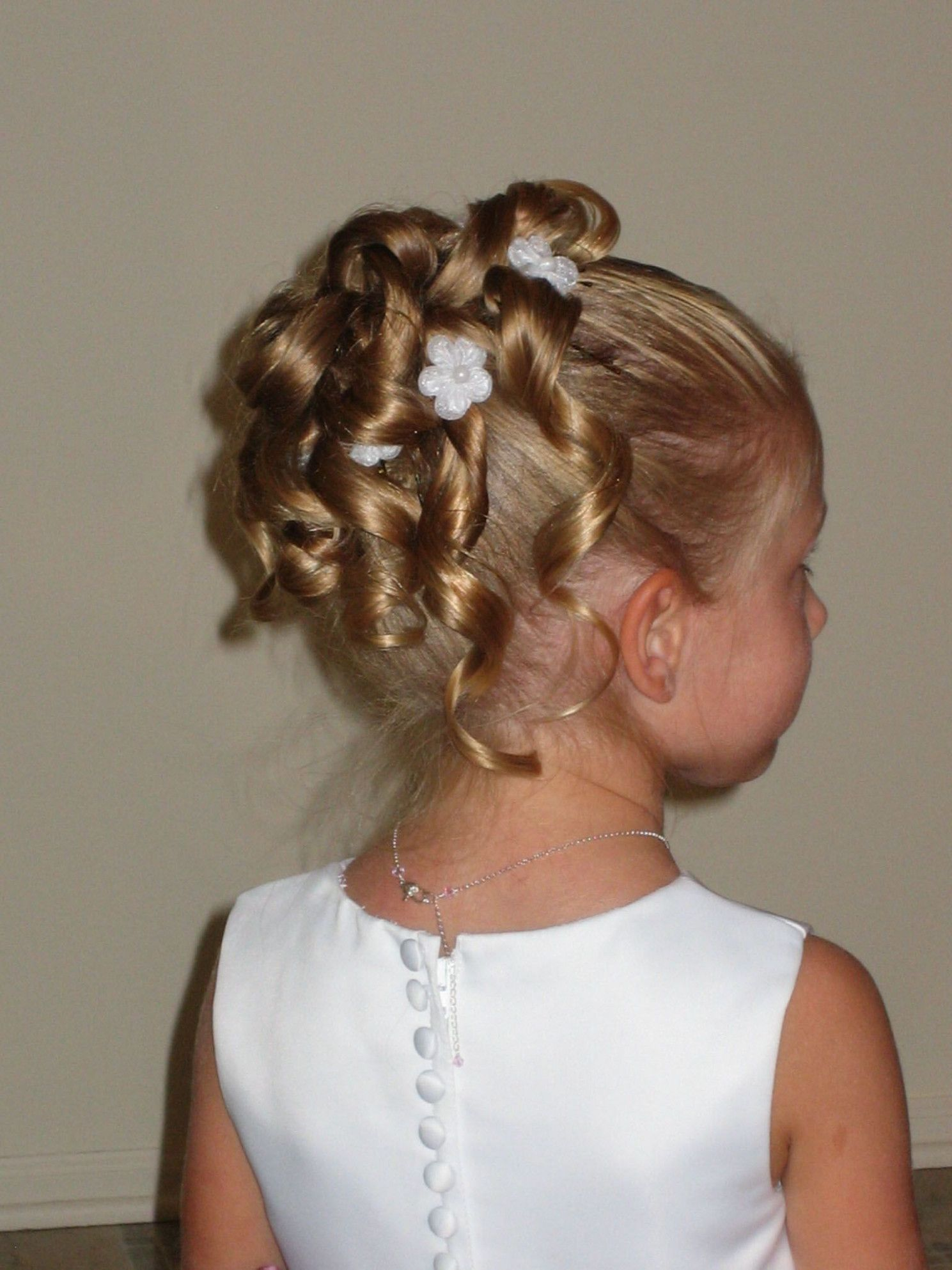 Easy wedding hairstyles for kids in hair pinterest easy