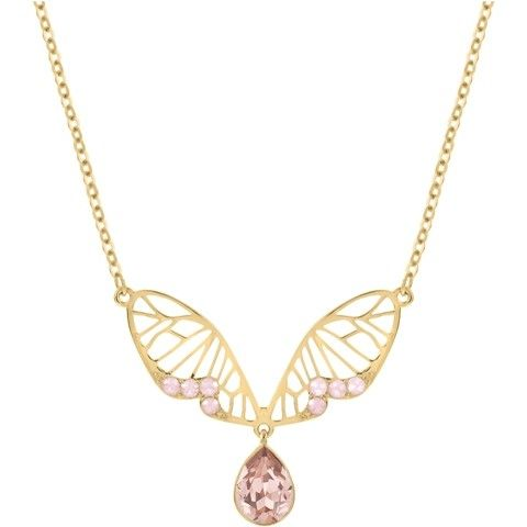 Swarovski - Candy Necklet £69 #Swarovski #sping #butterfly #wings #dleicate #jewellery #necklace #MothersDay #gift #special