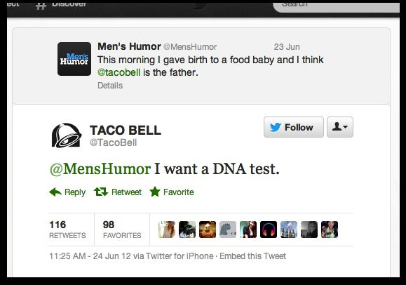 The Best Of Taco Bell S Twitter Account Funny Tweets Funny Tweets Twitter Tumblr Funny