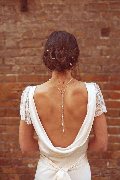 Les Bijoux De Dos Pour La Mariée La Nouvelle Tendance à