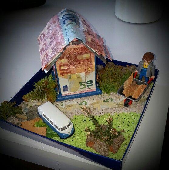 Geldgeschenk Zum Hausbau Money Geldgeschenke Hausbau Gift Ideas