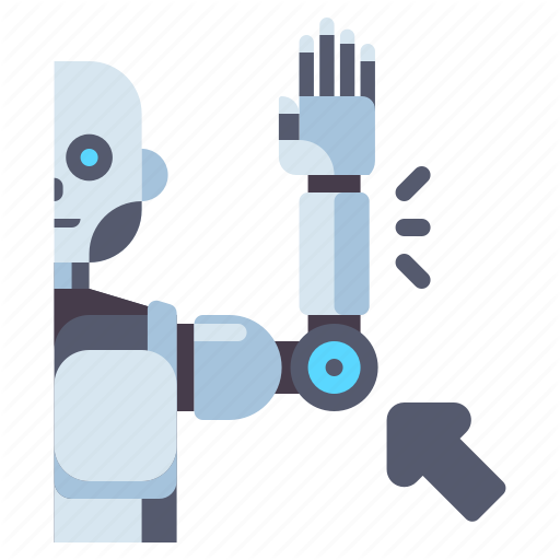Arm Hand Robot Robotic Icon Download On Iconfinder All Icon Icon Arms