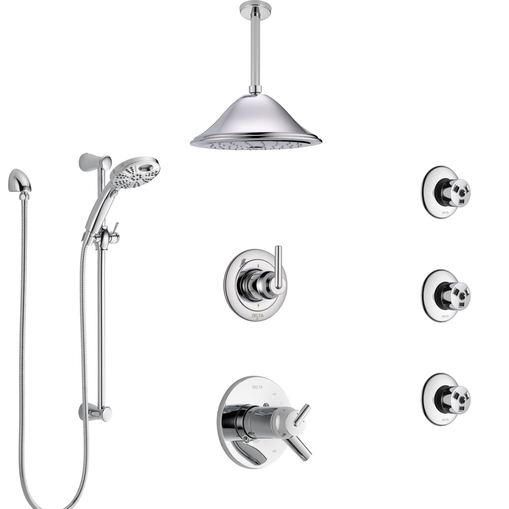 Delta Trinsic Chrome Shower System With