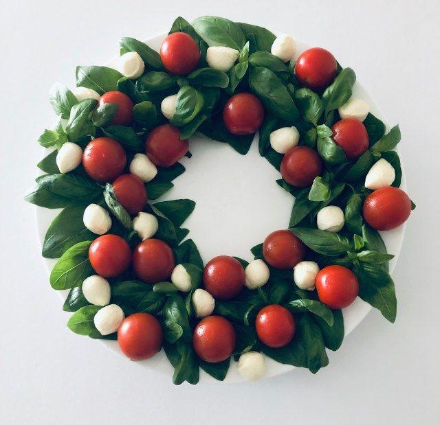 Photo of Caprese Christmas Wreath