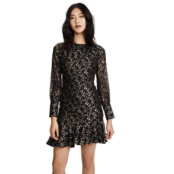 Derek Lam 10 Crosby Asymmetrical Ruffle Hem Dress ( 500) ❤ liked on Polyvore  featuring 0b301464365