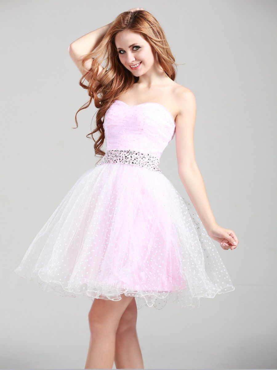 Pretty Short Prom Dresses