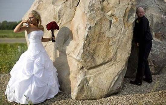 Funny Bride And Groom 1