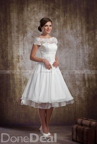 huge inventory get online first look Short Wedding Dress For Sale in Dublin on DoneDeal - €115 ...