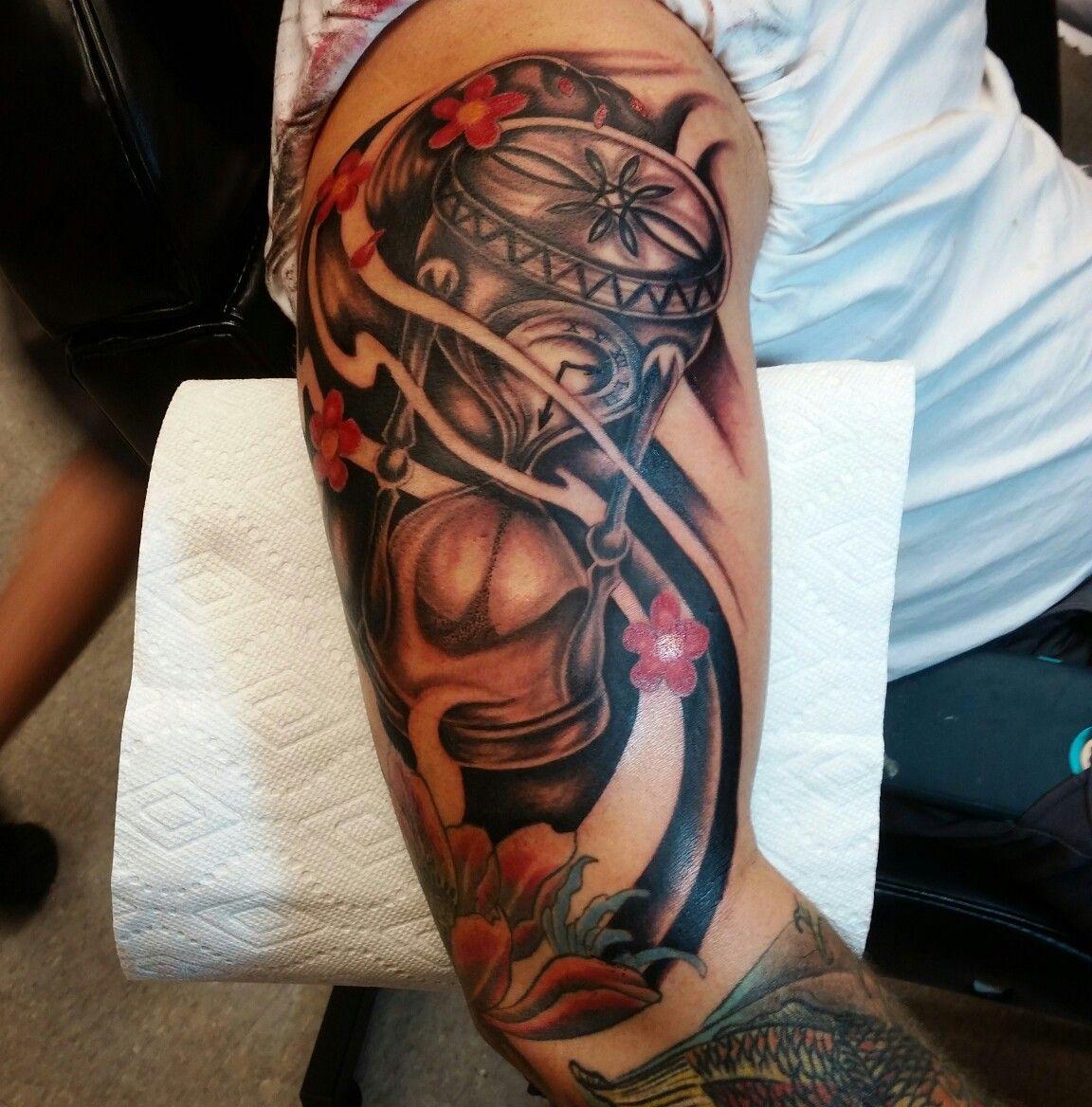 Estilo japonés tatuaje